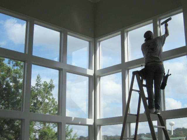 professional window cleaning residential