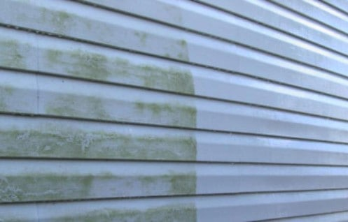 Pressure Washing of Siding
